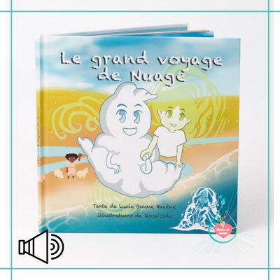 """Livre interactif """"Le grand voyage de Nuage"""""""